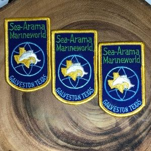 3 Vintage Boy Scout Patches Lot | Sea-Arama TX
